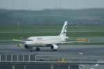 pringlesさんが、ウィーン国際空港で撮影したエーゲ航空 A320-232の航空フォト(写真)