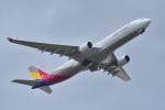 パンダさんが、成田国際空港で撮影したアシアナ航空 A330-323Xの航空フォト(写真)