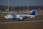 JA8037さんが、ミュンヘン・フランツヨーゼフシュトラウス空港で撮影したエジプト航空 737-866の航空フォト(写真)