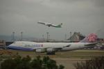 JA8037さんが、台湾桃園国際空港で撮影したチャイナエアライン 747-409F/SCDの航空フォト(写真)