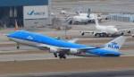 NH642さんが、香港国際空港で撮影したKLMオランダ航空 747-406Mの航空フォト(写真)