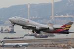 NH642さんが、香港国際空港で撮影したアシアナ航空 747-48EM(BDSF)の航空フォト(写真)