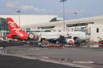 NH642さんが、クアラルンプール国際空港で撮影したエアアジア・インドネシア A320-214の航空フォト(写真)