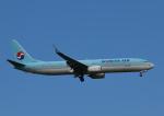 じーく。さんが、小松空港で撮影した大韓航空 737-9B5/ER の航空フォト(写真)