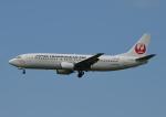じーく。さんが、小松空港で撮影した日本トランスオーシャン航空 737-446の航空フォト(写真)