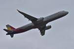 qooさんが、成田国際空港で撮影したアシアナ航空 A321-231の航空フォト(写真)