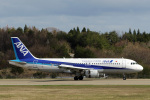 菊池 正人さんが、能登空港で撮影した全日空 A320-211の航空フォト(写真)