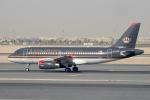 cornicheさんが、ドーハ・ハマド国際空港で撮影したロイヤル・ヨルダン航空 A319-132の航空フォト(写真)