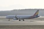 シャークレットさんが、新千歳空港で撮影したアシアナ航空 A321-231の航空フォト(写真)