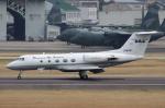 なごやんさんが、名古屋飛行場で撮影したダイヤモンド・エア・サービス G-1159 Gulfstream IIの航空フォト(写真)