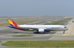 kix-boobyさんが、関西国際空港で撮影したアシアナ航空 A350-941XWBの航空フォト(写真)