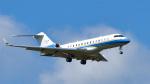 パンダさんが、成田国際空港で撮影したMy Jet Asia BD-700 Global Express/5000/6000の航空フォト(写真)