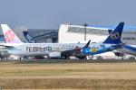 Timothy✈︎NRTさんが、成田国際空港で撮影したマンダリン航空 737-8SHの航空フォト(写真)
