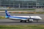 にしやんさんが、羽田空港で撮影した全日空 A321-272Nの航空フォト(写真)