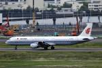 にしやんさんが、羽田空港で撮影した中国国際航空 A321-213の航空フォト(写真)