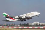 Y-Kenzoさんが、シドニー国際空港で撮影したエミレーツ航空 A380-861の航空フォト(写真)