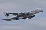 qooさんが、成田国際空港で撮影したマレーシア航空 A380-841の航空フォト(写真)