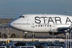 EarthScapeさんが、サンフランシスコ国際空港で撮影したユナイテッド航空 747-422の航空フォト(写真)
