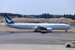 おっしーさんが、成田国際空港で撮影したキャセイパシフィック航空 777-367の航空フォト(写真)