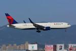 HISAHIさんが、福岡空港で撮影したデルタ航空 767-3P6/ERの航空フォト(写真)