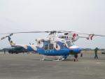 M.Ochiaiさんが、新田原基地で撮影した宮崎県防災救急航空隊 412EPの航空フォト(写真)