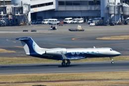 T.Sazenさんが、羽田空港で撮影したプライベートエア G350/G450の航空フォト(写真)