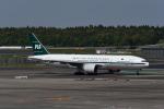 じゃまちゃんさんが、成田国際空港で撮影したパキスタン国際航空 777-2Q8/ERの航空フォト(写真)