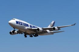 LAX Spotterさんが、ロサンゼルス国際空港で撮影したウエスタン・グローバル・エアラインズ 747-446(BCF)の航空フォト(写真)