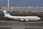 ユウイチ22さんが、羽田空港で撮影したドバイ・ロイヤル・エア・ウィング 747-422の航空フォト(写真)