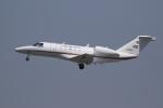 ぽんさんが、高松空港で撮影した国土交通省 航空局 525C Citation CJ4の航空フォト(写真)