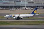 どりーむらいなーさんが、羽田空港で撮影したスカイマーク 737-86Nの航空フォト(写真)