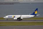 どりーむらいなーさんが、羽田空港で撮影したスカイマーク 737-8FZの航空フォト(写真)