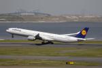 どりーむらいなーさんが、羽田空港で撮影したルフトハンザドイツ航空 A340-642Xの航空フォト(写真)