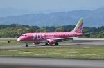 yamatoさんが、静岡空港で撮影したフジドリームエアラインズ ERJ-170-200 (ERJ-175STD)の航空フォト(写真)