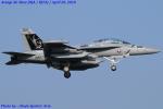 Chofu Spotter Ariaさんが、厚木飛行場で撮影したアメリカ海軍 EA-18G Growlerの航空フォト(飛行機 写真・画像)