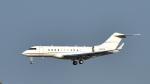 パンダさんが、成田国際空港で撮影したHCC SERVICE CO INC BD-700-1A11 Global 5000の航空フォト(写真)