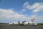 ケロさんが、多良間空港で撮影した琉球エアーコミューター DHC-8-402Q Dash 8 Combiの航空フォト(写真)