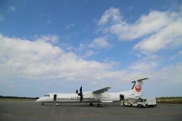 ケロさんが、多良間空港で撮影した琉球エアーコミューター DHC-8-402Q Dash 8 Combiの航空フォト(飛行機 写真・画像)