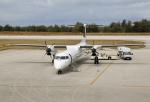 ケロさんが、南大東空港で撮影した琉球エアーコミューター DHC-8-402Q Dash 8 Combiの航空フォト(写真)