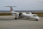 ケロさんが、北大東空港で撮影した琉球エアーコミューター DHC-8-402Q Dash 8 Combiの航空フォト(写真)