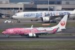 ユウイチ22さんが、羽田空港で撮影した日本トランスオーシャン航空 737-8Q3の航空フォト(写真)