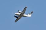 tsubasa0624さんが、岩国空港で撮影したアメリカ海軍 UC-12F Super King Air (B200C)の航空フォト(写真)