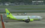 SH60J121さんが、福岡空港で撮影したジンエアー 737-8SHの航空フォト(写真)