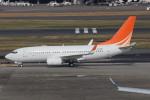 RINA-200さんが、羽田空港で撮影したハンワ・ケミカル 737-7HF BBJの航空フォト(写真)