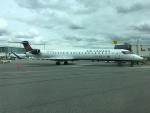 Y.Hさんが、バンクーバー国際空港で撮影したエア・カナダ ジャズ CL-600-2D15 Regional Jet CRJ-705ERの航空フォト(写真)