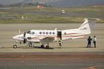 ピーチさんが、岡山空港で撮影したダイヤモンド・エア・サービス 200 Super King Airの航空フォト(写真)