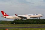 ぱん_くまさんが、成田国際空港で撮影したターキッシュ・エアラインズ A330-303の航空フォト(写真)
