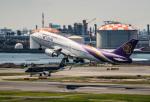 HND_fanさんが、羽田空港で撮影したタイ国際航空 747-4D7の航空フォト(写真)