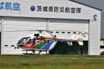 ヘリオスさんが、つくばヘリポートで撮影した茨城県防災航空隊 BK117C-2の航空フォト(写真)
