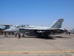 SK51Aさんが、厚木飛行場で撮影したアメリカ海軍 F/A-18F Super Hornetの航空フォト(写真)